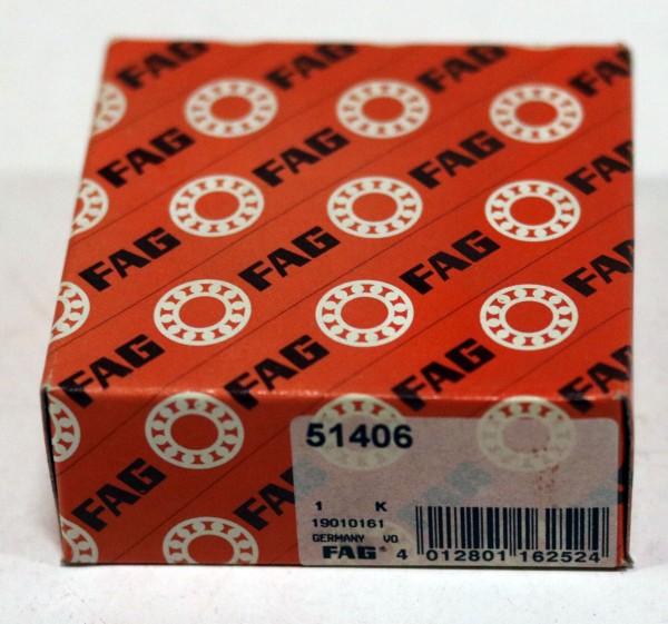 Axial-Rillenkugellager FAG 51406