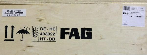 Pendelrollenlager FAG 24072-B-MB / 24072BMB / 24072-BMB