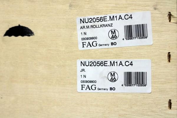 Zylinderrollenlager FAG NU2056E-M1A-C4 / NU2056EM1AC4 / NU2056E-M1AC4