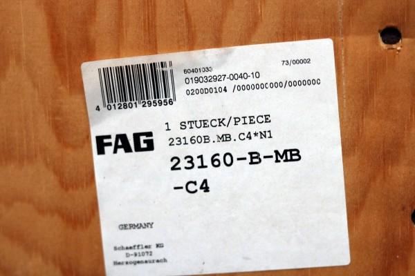 Pendelrollenlager FAG 23160-B-MB-C4 / 23160BMBC4 / 23160-BMBC4