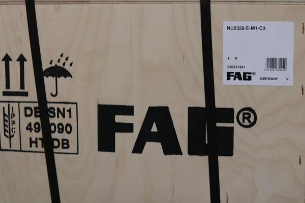 Zylinderrollenlager FAG NU2332-E-M1-C3 / NU2332EM1C3 / NU2332-EM1C3