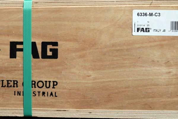 Rillenkugellager FAG 6336-M-C3 / 6336MC3 / 6336-MC3