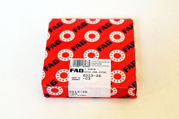 Rillenkugellager FAG 6213-2Z-C3 / 62132ZC3 / 6213-2ZC3