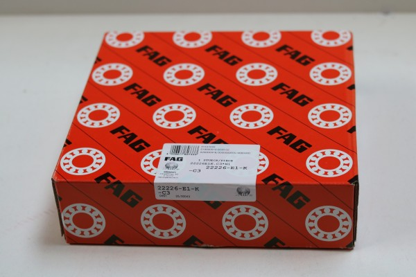Pendelrollenlager FAG 22226-E1-K-C3 / 22226E1KC3 / 22226-E1KC3