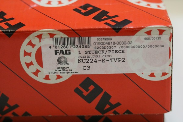 Zylinderollenlager FAG NU224-E-TVP2-C3 / NU224ETVP2C3 / NU224-ETVP2C3