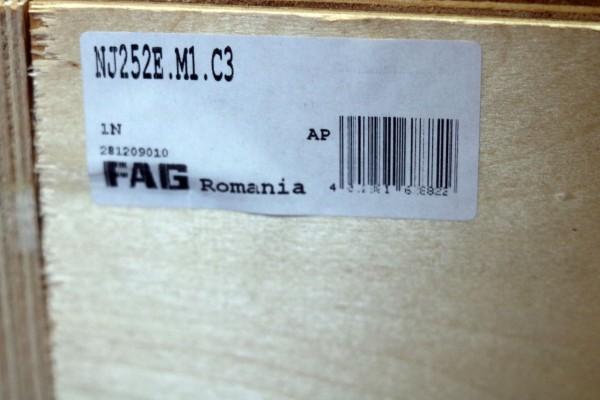 Zylinderrollenlager FAG NJ252E-M1-C3 / NJ252EM1C3 / NJ252E-M1C3