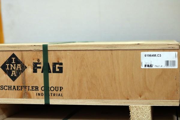 Rillenkugellager FAG 61964-M-C3 / 61964MC3 / 61964-MC3
