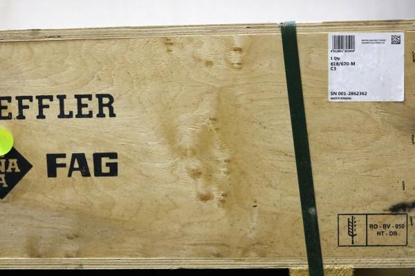 Rillenkugellager FAG 618/670-M-C3 / 618/670MC3 / 618/670-MC3