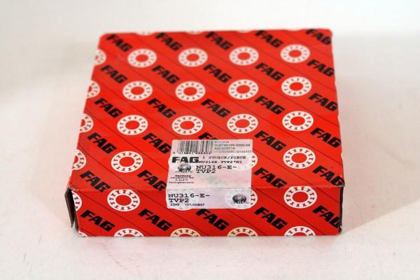 Zylinderrollenlager FAG NU316-E-TVP2 / NU316ETVP2 / NU316-ETVP2