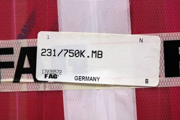 Kegelrollenlager FAG 231/750K-MB / 231/750KMB