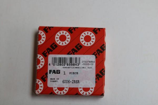 Rillenkugellager FAG 6006-2RSR / 60062RSR