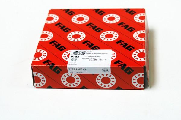 Pendelrollenlager FAG 22222-E1-K / 22222E1K / 22222-E1K