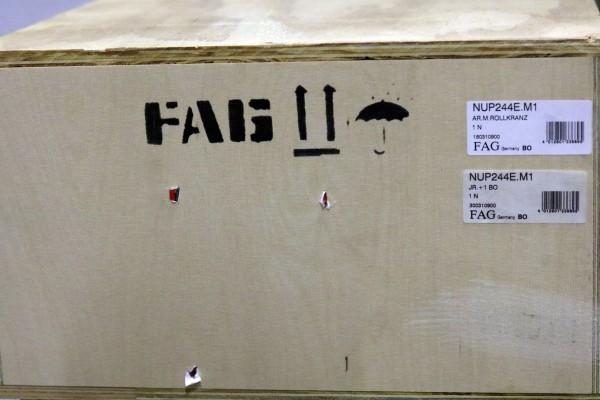 Zylinderollenlager FAG NUP244-E-M1 / NUP244EM1 / NUP244-EM1