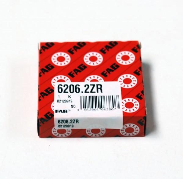 Rillenkugellager FAG 6206-2Z / 62062Z